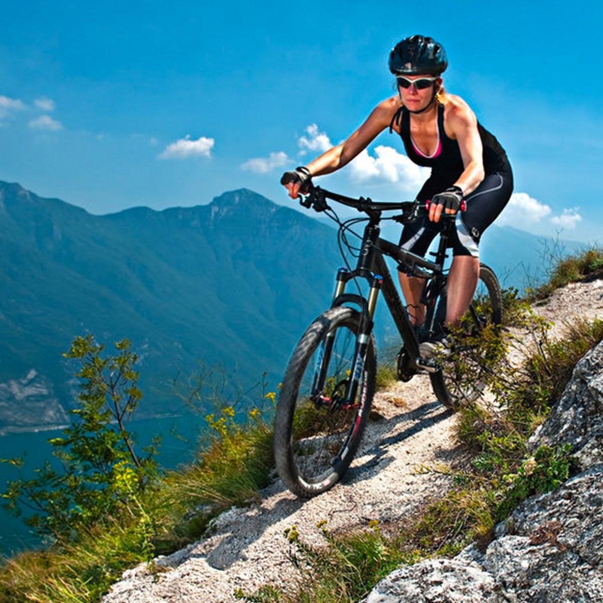 Mountain Bike & Motor Bike